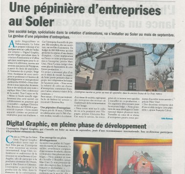 Article L'ECHO DU ROUSSILLON Le Soler fait son cinéma page 2